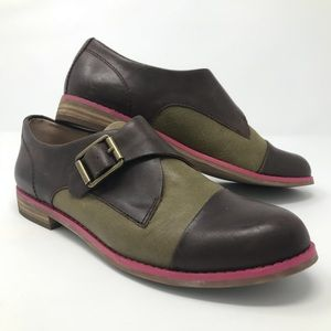 Unique Lucky Brand leather shoes